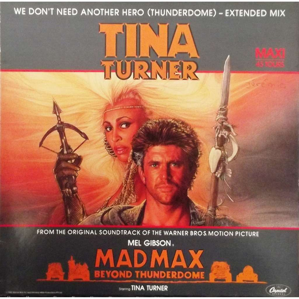 Image result for tina turner we don't need another hero