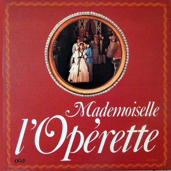 artistes variés Mademoiselle l'opérette