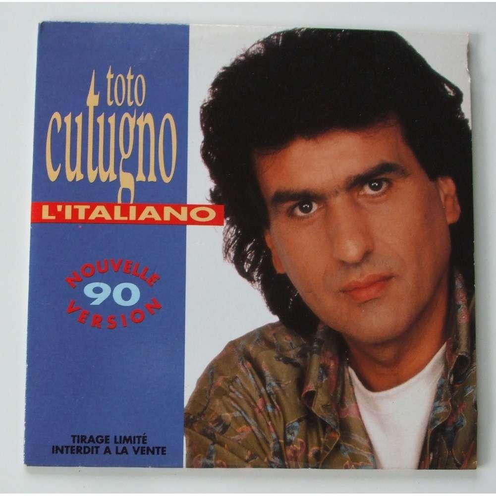 Toto Cutugno Litaliano Nouvelle Version  Tirage Limite