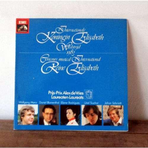 Reine Elisabeth Piano Competition 1983 Prix Alex De Vries By