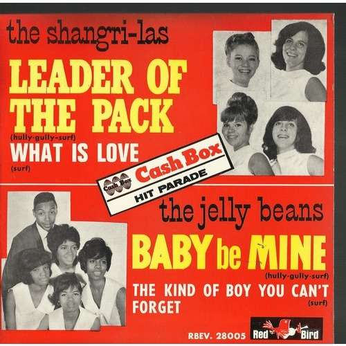 Leader Of The Pack By Shangri Las Jelly Beans Ep With