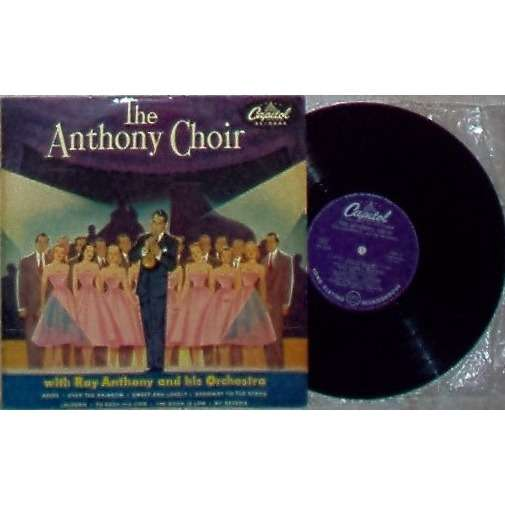 Ray Anthony And His Orchestra The Anthony Choir (Spanish 1953 original 8-trk 10LP flipback ps)