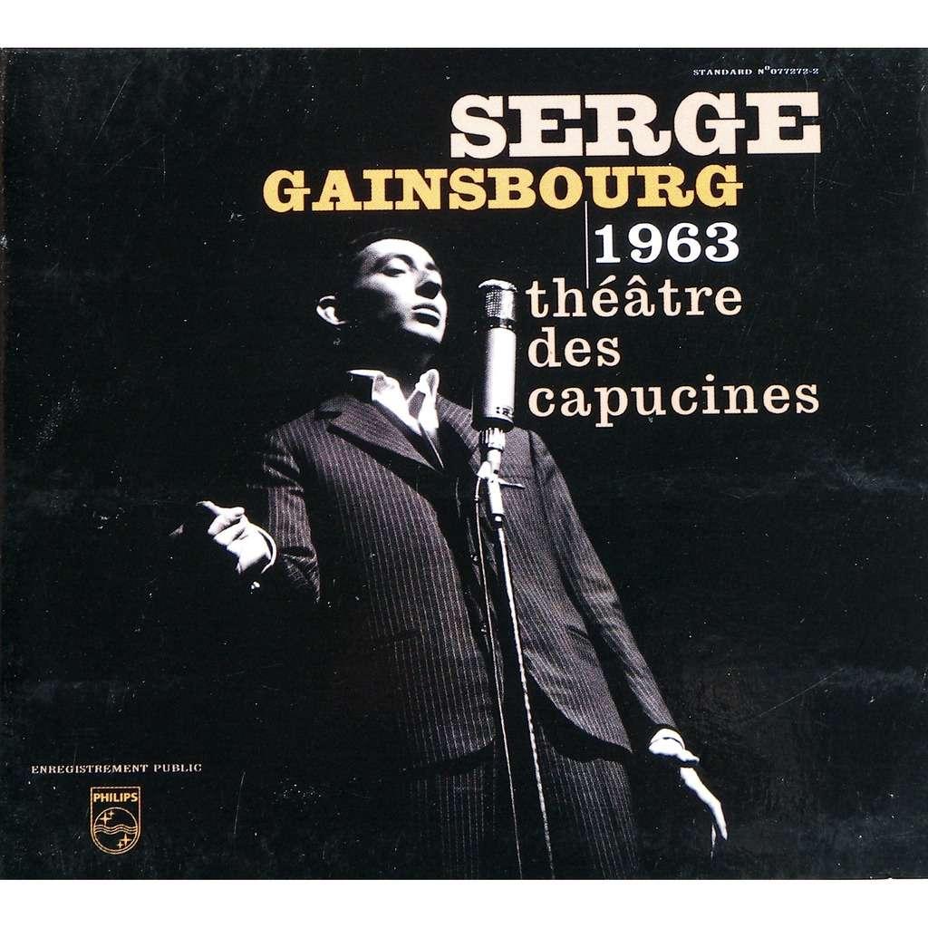 serge gainsbourg 1963 théâtre des capucines