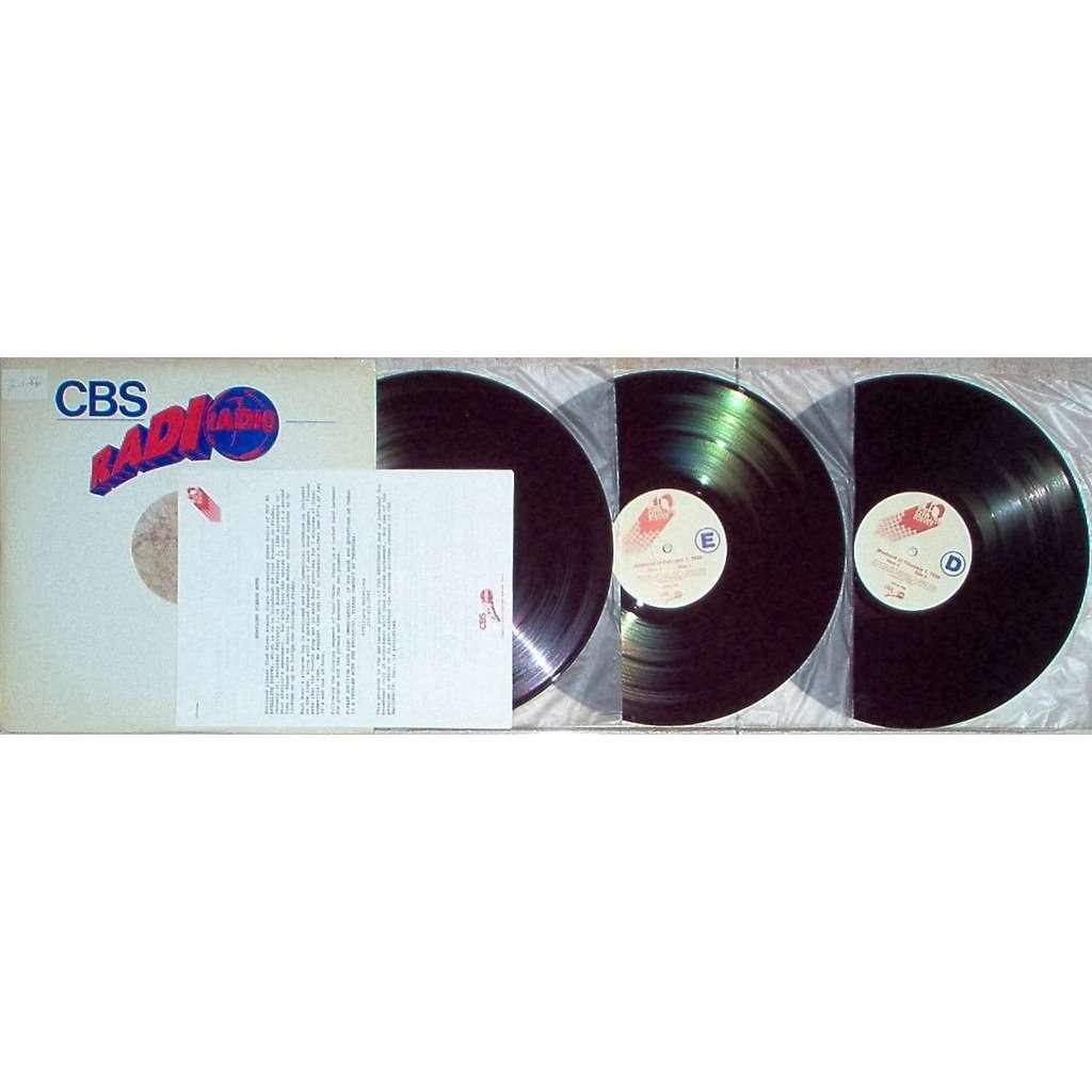 Dire Straits Top 40 Satellite Survey Show #94/86 (Italian 1986 'CBS' promo 3LP Brown Wax Radio Show Co. slv+cues)