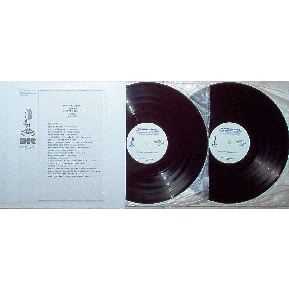 David Bowie Christmas Special 1986-Pioneers In Music Show #75 (USA 1986 'DIR' 3-sided promo 2LP radio Show+cues)