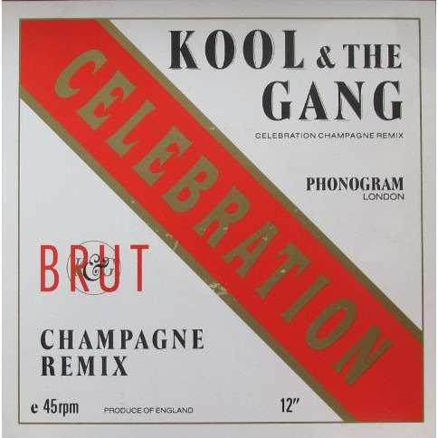 KOOL & THE GANG celebration '88 , champagne remix / rags to riches / jungle boogie