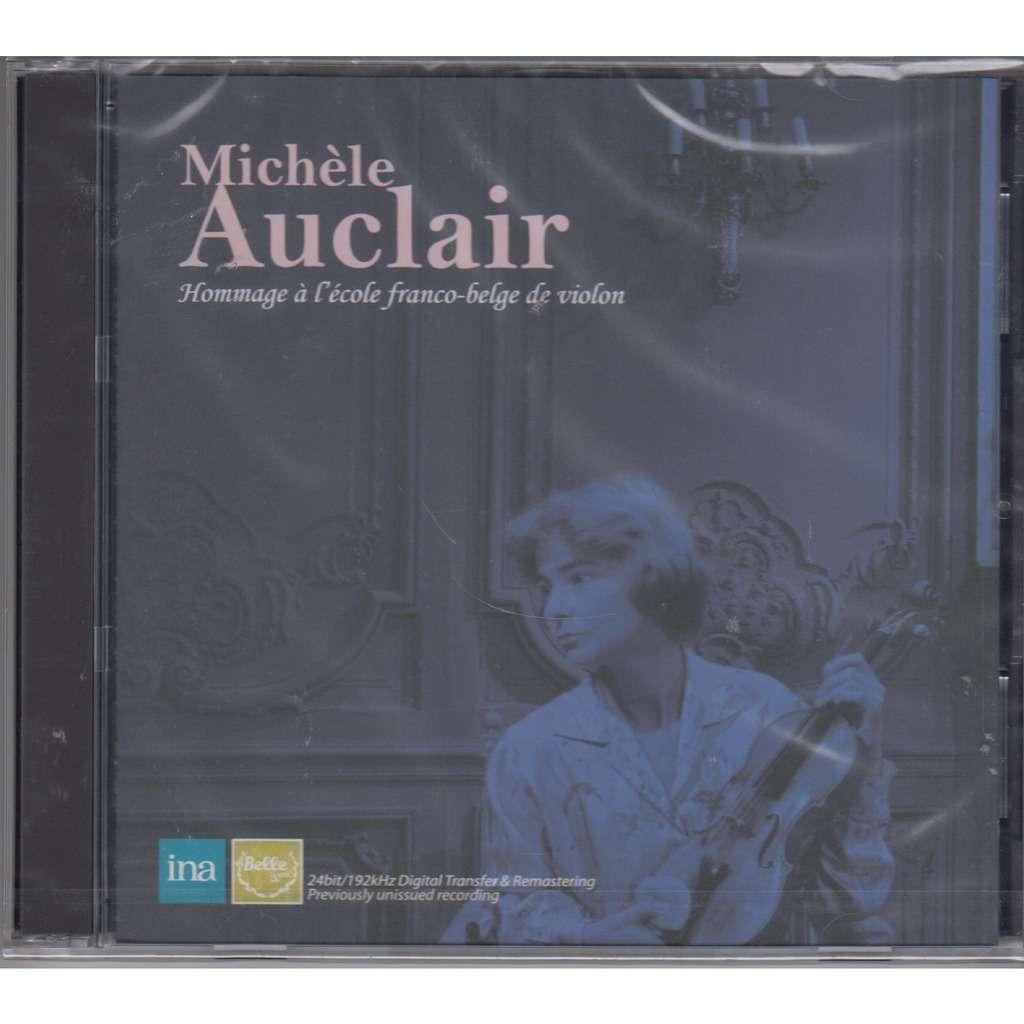 Michele Auclair Prokofiev Bartok Violin Sonatos, Bach Violin Concerto #2, Mozart Sinfonia Concertante, Telemann Stra