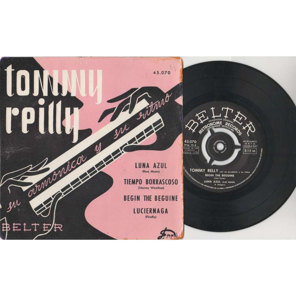 Tommy Reilly Tommy Reilly Su Armonica Y Su Ritmo (Spanish 60s original 4-trk 7ep great ps)