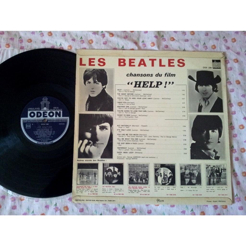 Beatles (The) - Les Beatles Chansons Du Film Help !