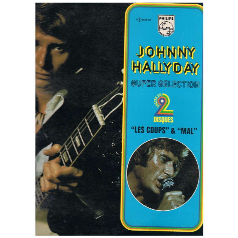 johnny hallyday les coups & mal