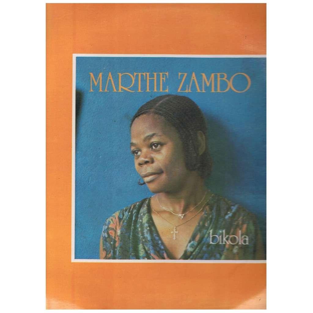 MARTHE ZAMBO BIKOLA