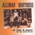 ALLMAN BROTHERS BAND, THE - A&R Studios, FM Radio Broadcast, New York August 26th, 1971 (2xlp) - 33T x 2