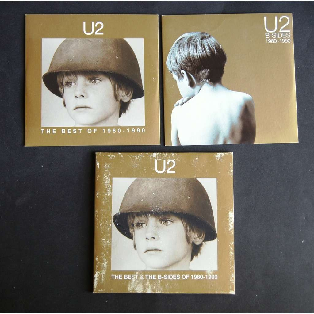 U2 the best & the b sides of 1980 1990 / PROMO