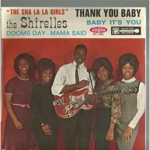 shirelles thank you baby