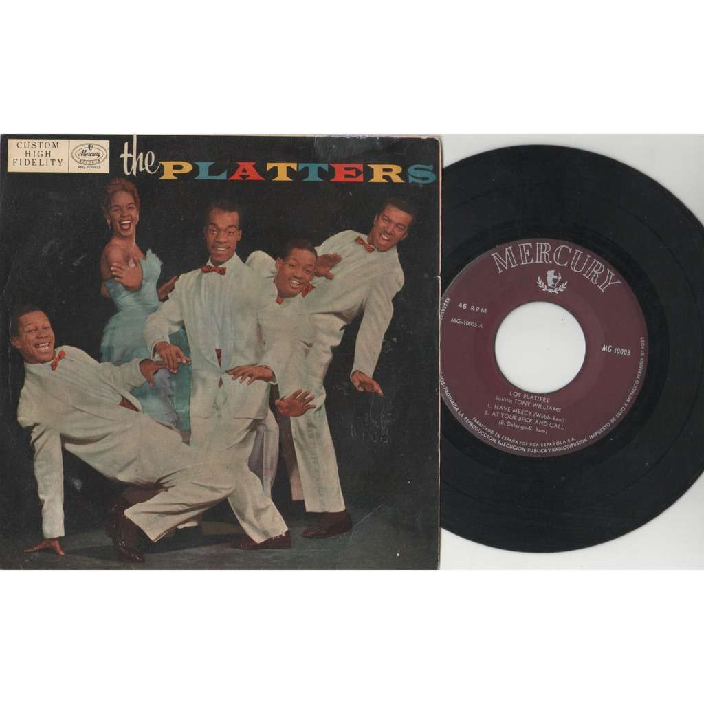 The Platters Los Platters (Spanish 50s original 4-trk 7ep great ps)