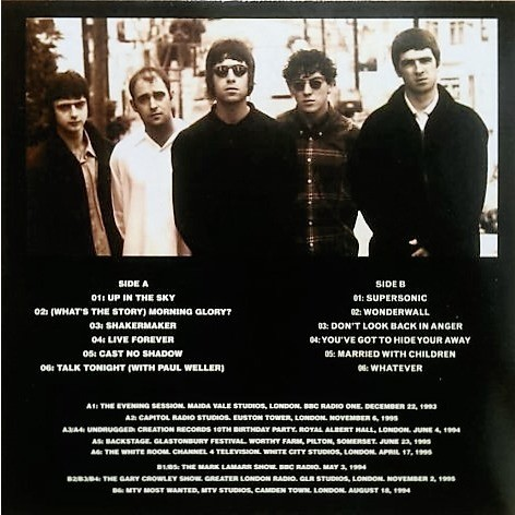 Oasis Acoustic Glory (lp)