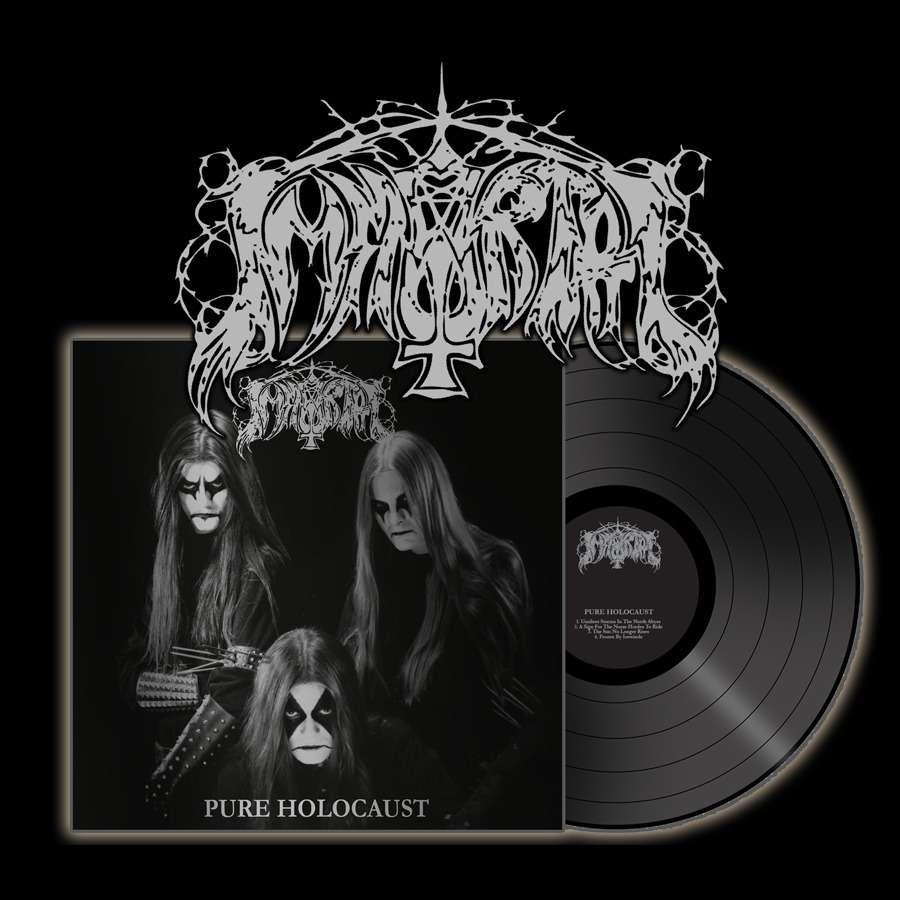 IMMORTAL pure holocaust. black vinyl, LP 180-220 GR for sale on osmoseproductions.com