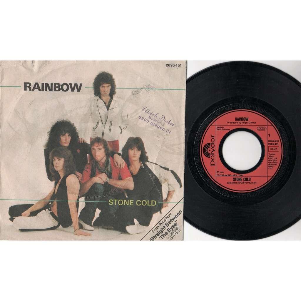 Deep Purple / Rainbow Stone Cold (German 1982 2-trk 7single different ps)