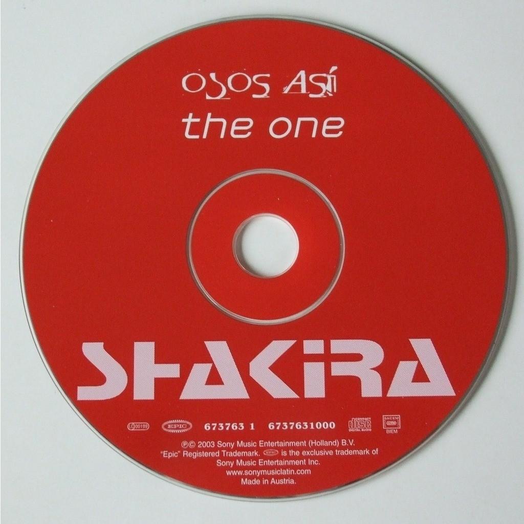 Shakira Osos asi