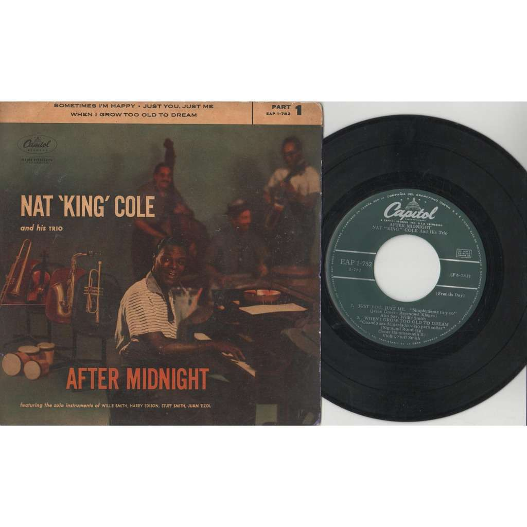 Nat King Cole After Midnight (Spanish 1957 original 4-trk 7ep on Capitol lbl great ps)
