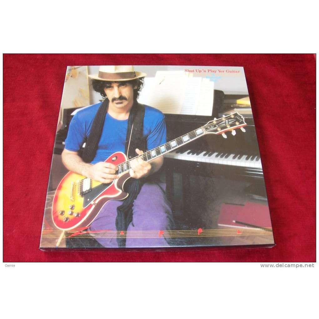 zappa, frank shut up 'n play yer guitar (coffret 3 disques)