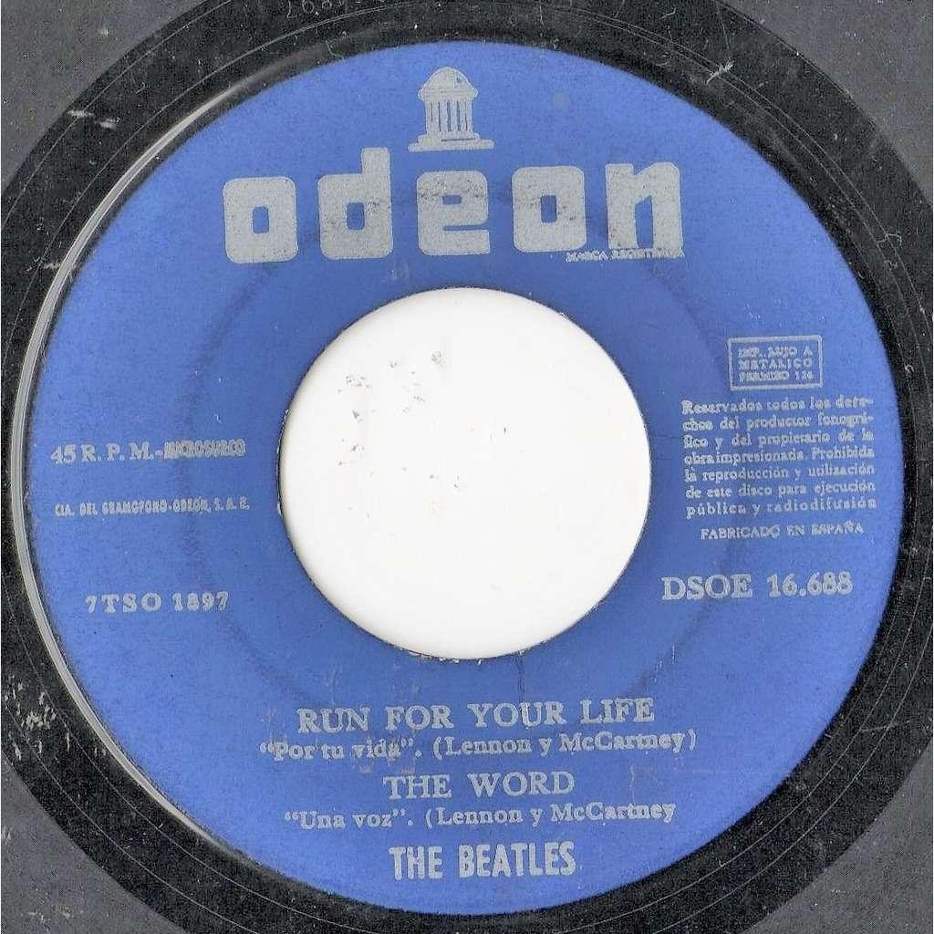 Beatles Michelle (Spanish 1966 4-trk 7ep on Odeon spanish titles lbl)