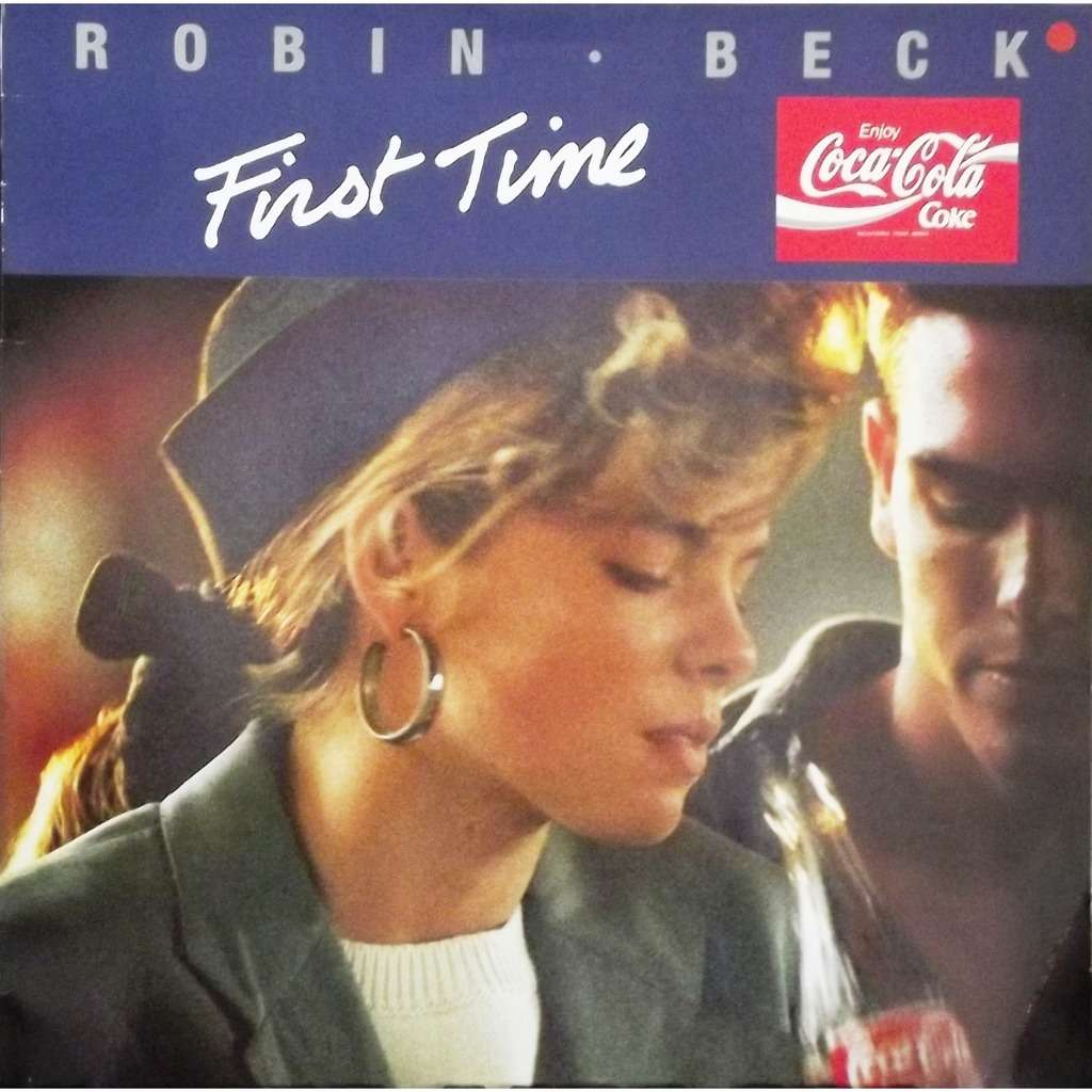 First Time Coca Cola 80 By Robin Beck 12inch With