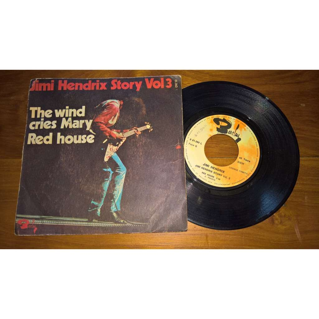 jimi hendrix Story Vol.3 The wind cries Mary / Red house