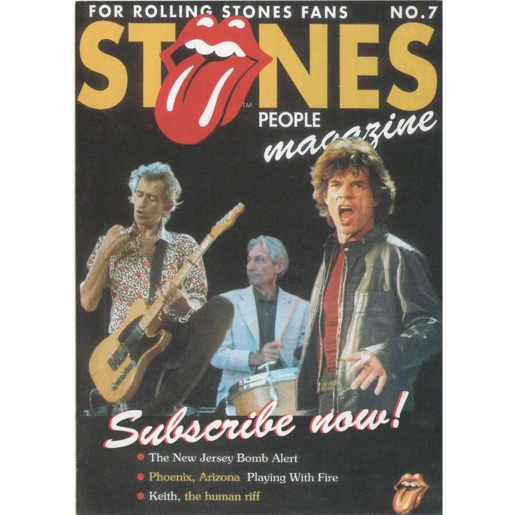 Stones People Holland 90s Rolling Stones Fan Magazine