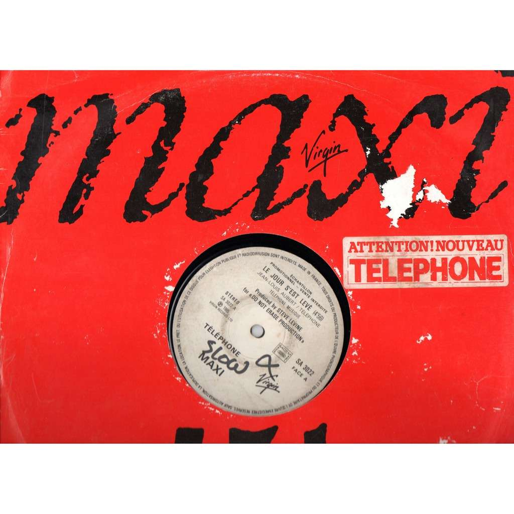 telephone le jour s'est leve promo