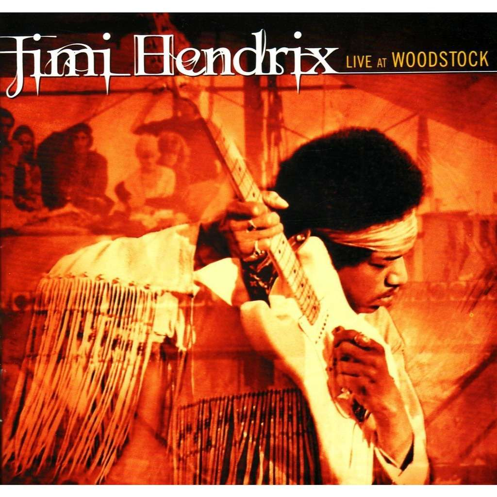 Live At Woodstock 16t By Jimi Hendrix Cd X 2 With Ltdc