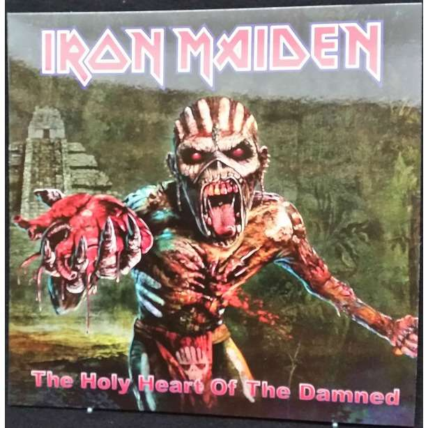 Iron Maiden The Holy Heart Of The Damned (lp) Ltd Edit Colour Vinyl -E.U