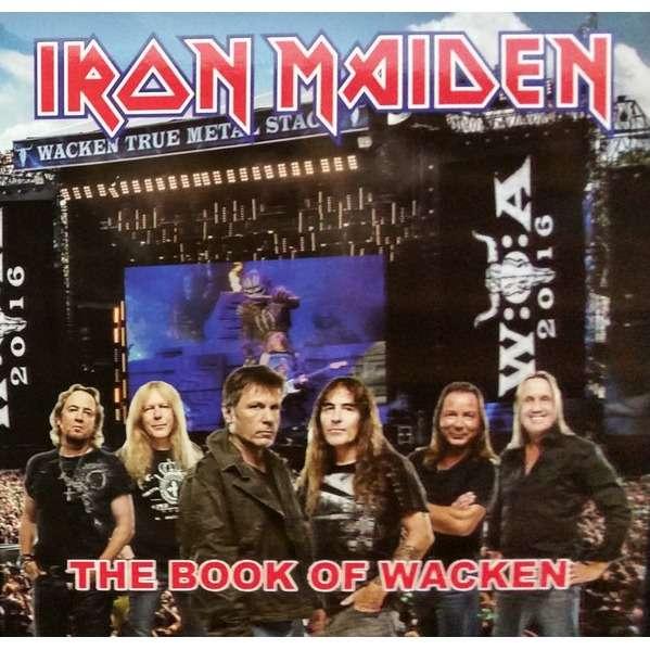 Iron Maiden The Book Of Wacken (lp) Ltd Edit Colour Vinyl -E.U