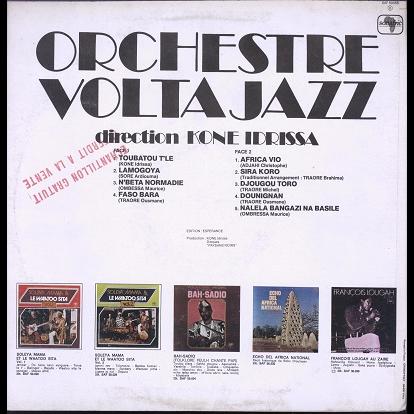volta jazz direction kone idrissa