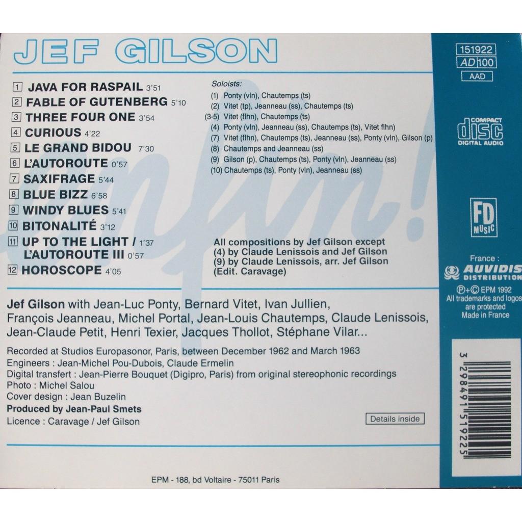 Jef Gilson Enfin!