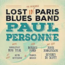 paul personne - lost in paris blues band - 33T x 2