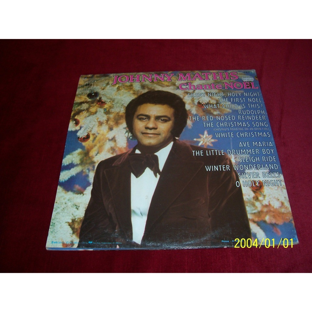 Johnny mathis °° chante noel by Johnny Mathis, LP with oemie - Ref ...
