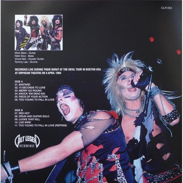 Red hot (lp) ltd edit vinyl colour -e.u by Mötley Crüe, LP with ...