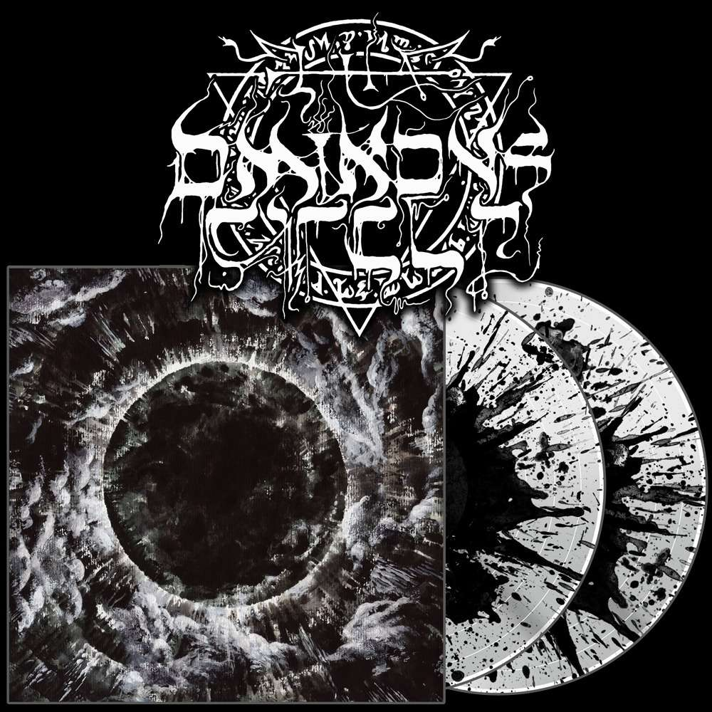 THE OMINOUS CIRCLE Appalling Ascension. Splatter Vinyl