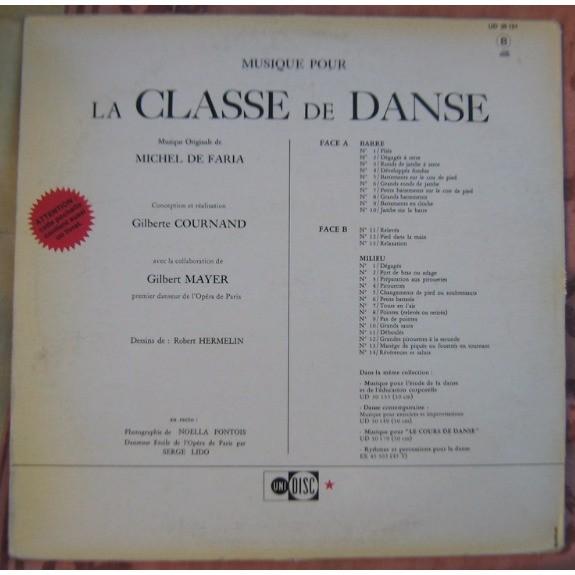 michel de faria musique pour la classe de danse