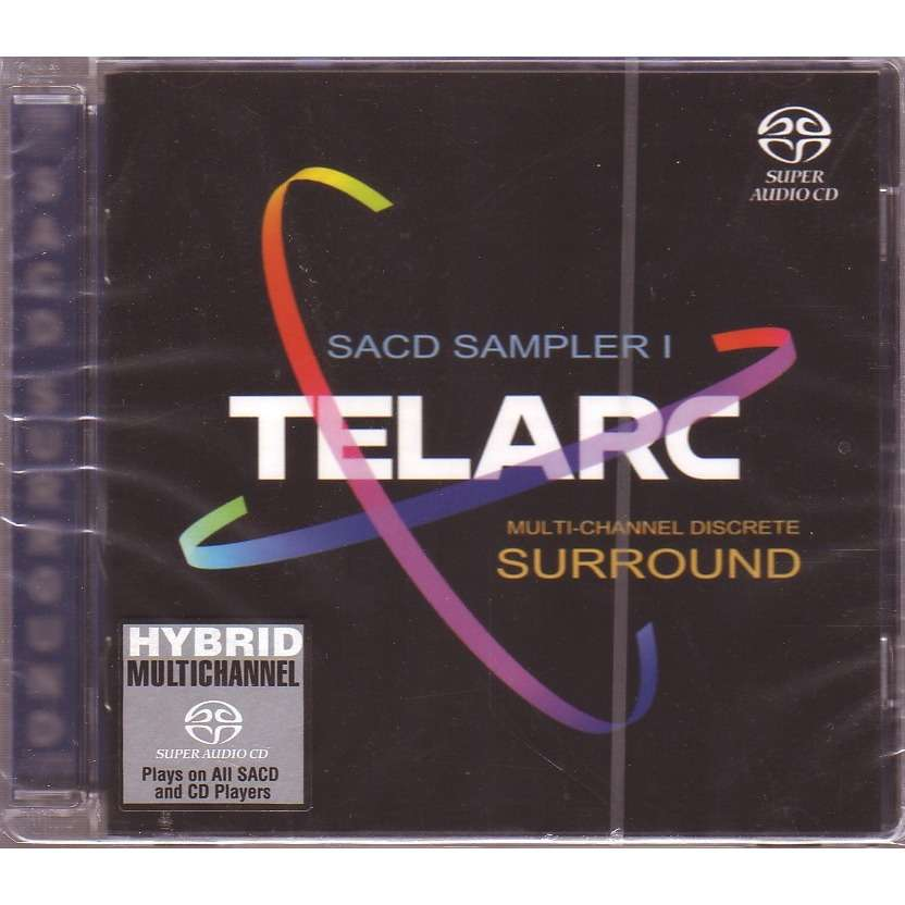 TELARC SACD SAMPLER 1 MULTI-CHANNEL DISCRETE SURROUND
