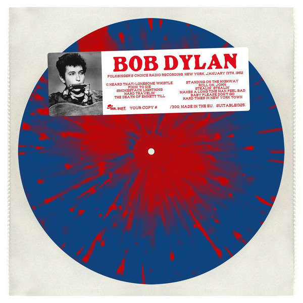 Bob Dylan Folksinger's Choice Radio Recording, New York, January 13th, 1962 (lp)
