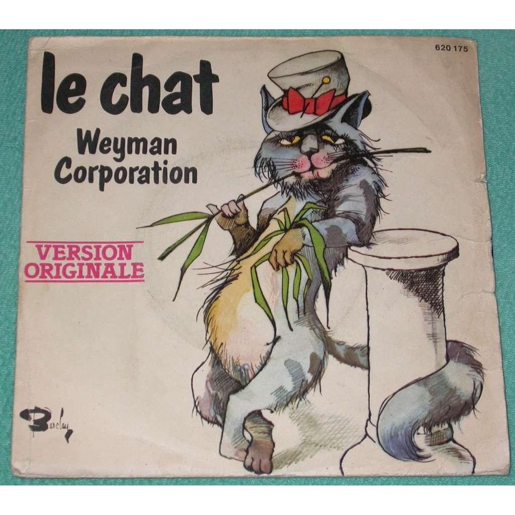 weyman corporation kumbayero / le chat ( afro disco funk )