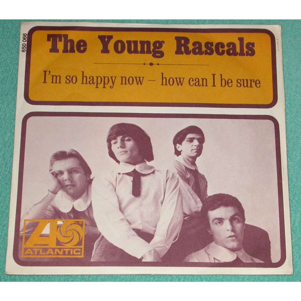 The Young Rascals How Can I Be Sure / I'm So Happy Now (BIEM)