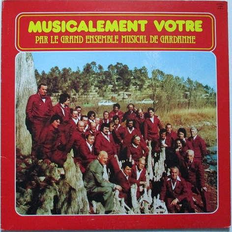 GRAND ENSEMBLE MUSICAL DE GARDANNE // JEAN ROUVIER MUSICALEMENT VOTRE