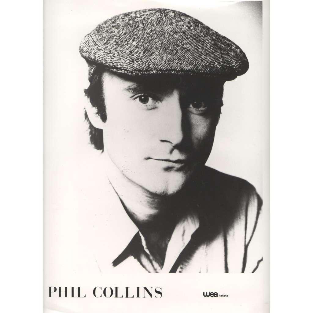 Genesis / Phil Collins Genesis / Phil Collins (Italian 80s original large promo Press-kit photo!!)