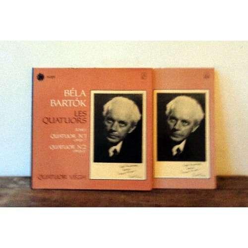 QUATUOR VEGH BARTOK quatuors n°1 & 2 / 5 & 6