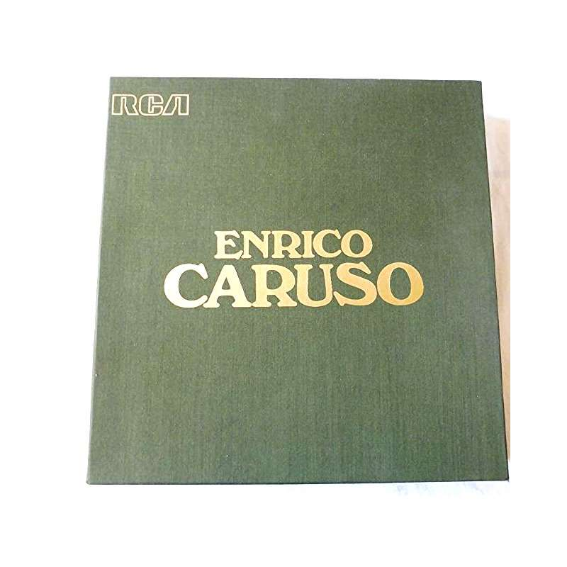 Caruso Enrico ENRICO CARUSO - ( 12 lp set box 2 booklets near mint condition )