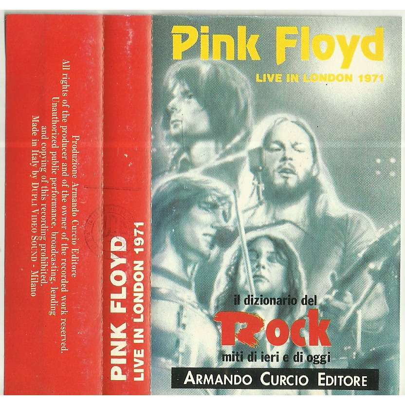pink floyd live in london 1971