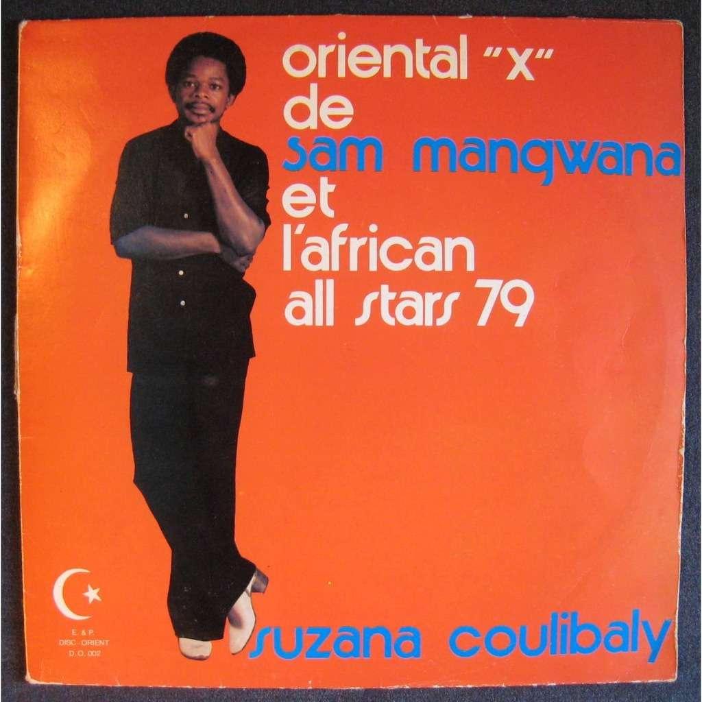 sam mangwana & l'african all stars oriental X